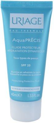 Uriage AquaPRÉCIS hidratáló védő fluid minden bőrtípusra