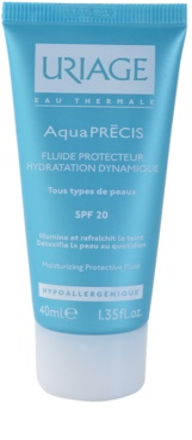 Uriage AquaPRÉCIS protetor hidratante fluido para todos os tipos de pele