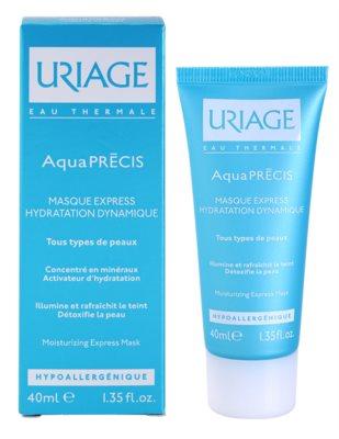 Uriage AquaPRÉCIS зволожуюча маска для всіх типів шкіри 1