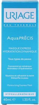 Uriage AquaPRÉCIS зволожуюча маска для всіх типів шкіри 2