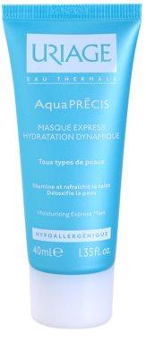 Uriage AquaPRÉCIS Hydratisierende Maske für alle Hauttypen