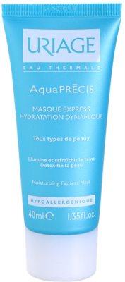 Uriage AquaPRÉCIS зволожуюча маска для всіх типів шкіри