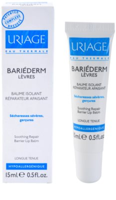Uriage Bariéderm schützendes Balsam für Lippen 1