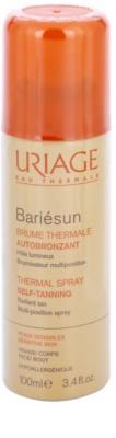 Uriage Bariésun Autobronzant spray autobronceador para cara y cuerpo