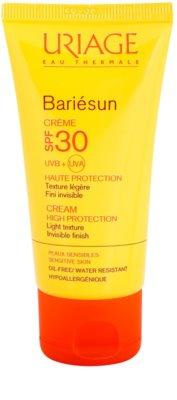 Uriage Bariésun crema facial protectora con textura ligera SPF 30