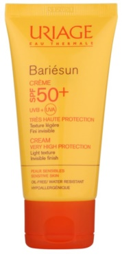 Uriage Bariésun krema za sončenje za obraz SPF 50+