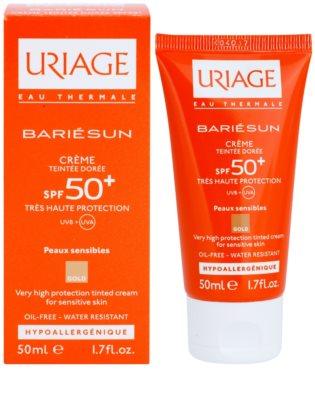 Uriage Bariésun színező védő krém SPF 50+ 1