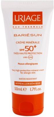 Uriage Bariésun ralisierende schützende Creme für das Gesicht und Körper SPF 50+