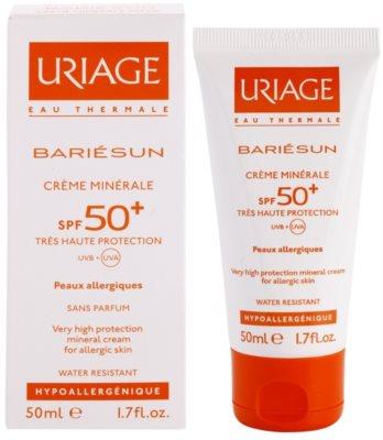 Uriage Bariésun Creme corporal e facial mineral protetor SPF 50+ 1