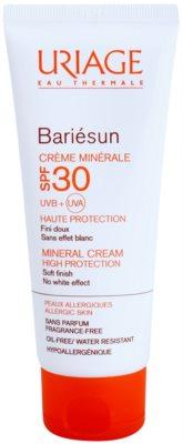 Uriage Bariésun ralisierende schützende Creme für das Gesicht und Körper SPF 30