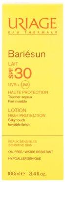 Uriage Bariésun hedvábně jemné ochranné mléko na obličej a tělo SPF 30 2