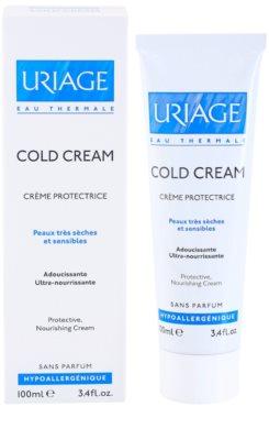 Uriage Cold Cream защитен крем  съдържа cold cream 2