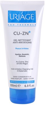Uriage Cu-Zn+ zklidňující čisticí gel na popraskanou pokožku