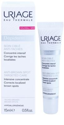 Uriage Dépiderm intesnive konzentrierte Pflege gegen Pigmentflecken 1