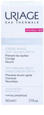 Uriage Dépiderm krém na ruce proti pigmentovým skvrnám SPF 15 2