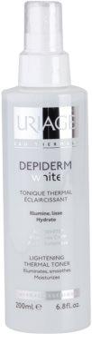 Uriage Dépiderm White rozświetlający tonik termalny