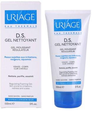 Uriage D.S. gel calmant pentru piele uscata, actionand impotriva senzatiei de mancarime 1