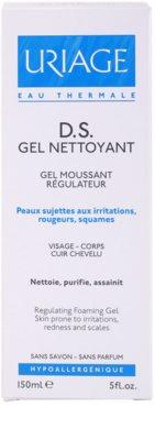 Uriage D.S. gel calmant pentru piele uscata, actionand impotriva senzatiei de mancarime 2