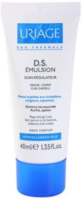 Uriage D.S. emulsão calmante para dermatite seborreica