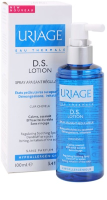 Uriage D.S. spray apaziguador para couro cabeludo seco com prurido 1