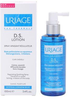 Uriage D.S. spray apaziguador para couro cabeludo seco com prurido 2