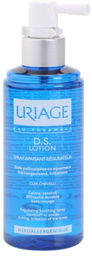 Uriage D.S. spray calmant pentru un scalp uscat, atenueaza senzatia de mancarime