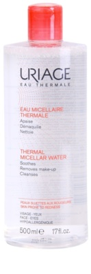 Uriage Eau Micellaire Thermale Mizellar-Reinigungswasser für empfindliche Haut mit der Neigung zum Erröten