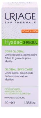Uriage Hyséac 3-Regul creme matificante  anticravos 2