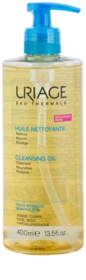 Uriage Hygiène óleo de limpeza  para rosto e corpo 1