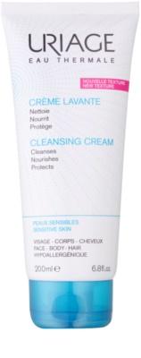 Uriage Hygiène crema nutritiva limpiadora  para cara y cuerpo