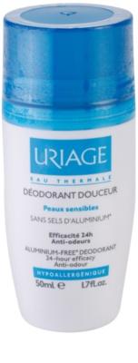 Uriage Hygiène desodorante roll-on suave sin aluminio