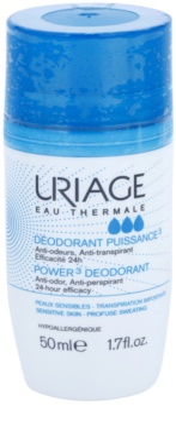 Uriage Hygiène desodorizante roll-on desodorizante antitranspirante em spray