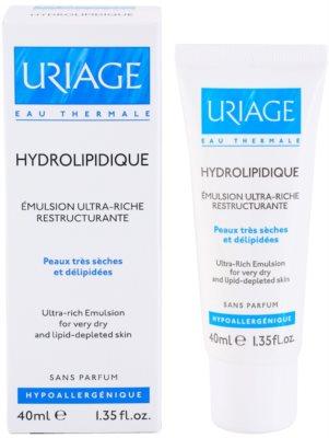 Uriage Hygiène kremasta emulzija za zelo suho kožo 2