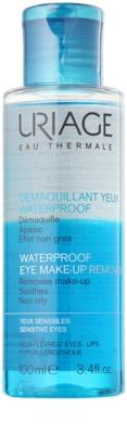 Uriage Hygiène demachiant pentru machiajul rezistent la apa pentru ochi sensibili