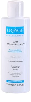 Uriage Hygiène mleko za odstranjevanje ličil za normalno do suho kožo 1