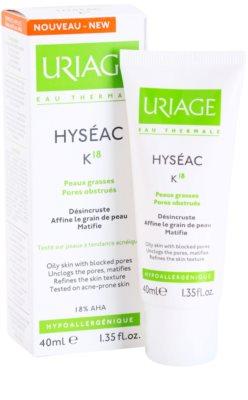 Uriage Hyséac K18 emulsäo de pele para pele oleosa 1