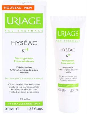 Uriage Hyséac K18 emulsäo de pele para pele oleosa 2