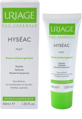 Uriage Hyséac Mat´ zmatňující gel-krém pro smíšenou a mastnou pleť 1