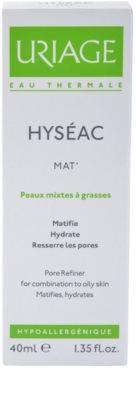 Uriage Hyséac Mat´ zmatňující gel-krém pro smíšenou a mastnou pleť 2
