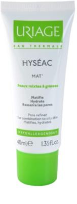 Uriage Hyséac Mat´ gel creme matificante para pele mista e oleosa