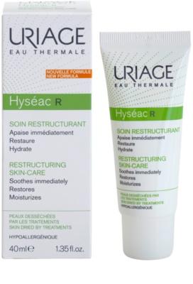 Uriage Hyséac R regeneráló és hidratáló krém a pattanások kezelése által kiszárított és irritált bőrre 1