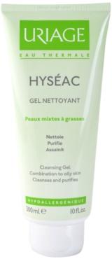 Uriage Hyséac gel limpiador para pieles mixtas y grasas