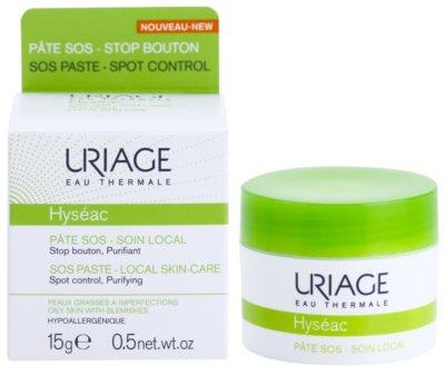Uriage Hyséac ingrijire locale pe timp de noapte impotriva imperfectiunilor pielii cauzate de acnee 1