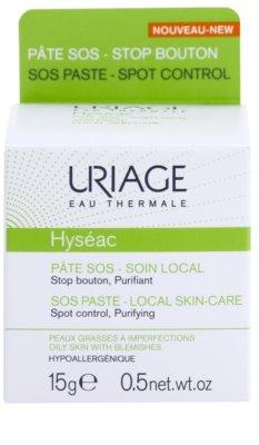 Uriage Hyséac ingrijire locale pe timp de noapte impotriva imperfectiunilor pielii cauzate de acnee 2
