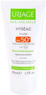 Uriage Hyséac матиращ флуид с хидратиращ ефект SPF 50+