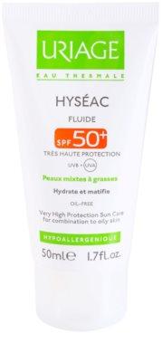 Uriage Hyséac fluid mat hidratant SPF 50+