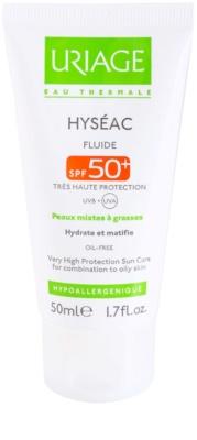 Uriage Hyséac matující fluid s hydratačním účinkem SPF 50+