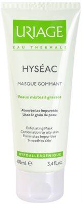 Uriage Hyséac máscara peeling para pele mista e oleosa