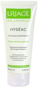 Uriage Hyséac mascarilla exfoliante para pieles mixtas y grasas