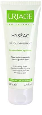 Uriage Hyséac peelingová maska pro smíšenou a mastnou pleť